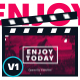 Modern Minimal Opener - For Youtube Intro / Event Slideshow/ Photography Promo