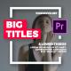 Big Typo Titles I Essential Graphics