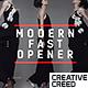 Modern Fast Opener / Dynamic Typography / Fashion Event Promo / Clean Stomp Rhythmic