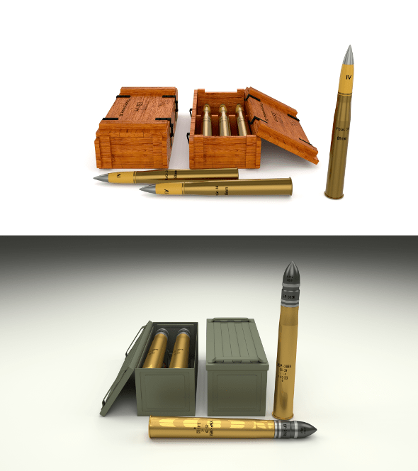 Soviet 85mm and German 88mm Ammo Pack