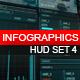 Infographics HUD smart graphics