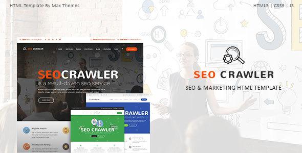 , SEO Crawler – Digital Marketing Agency HTML Template, Laravel & VueJs