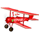 Santas Plane Christmas Card  | After Effects Template