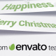Corporate Christmas Logo and Message Animation