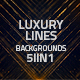 Luxury Lines Abstract Loop Backgrounds 5in1