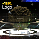 Hybrid Glitch Miner 4K Logo Reveal