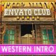 Western Logo | West Cowboy Intro