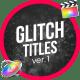 Glitch Modern Titles // FCPX or Apple Motion