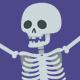 Cartoon Happy Skeleton Pack