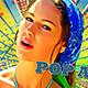 Freeze Frame Pop Art Retro Trailer