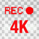 System Camera Recording Screen | 4K