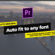 Essential Titles & Lower Thirds // Auto Resizing Boxes // MOGRT