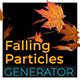 3D Falling Particle Generator