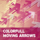 Colorfull Moving Arrows