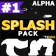 Hand Drawn Liquid Splash   Motion Graphics Pack