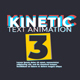 Kinetic Text Animation V3