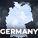 Germany Map - Deutschland Map Kit - Federal Republic of Germany Map