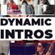 Dynamic glitch powerful intros