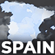 Spain Animated Map - Kingdom of Spain Map Kit