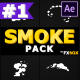 Cartoon SMOKE Elements | After Effects