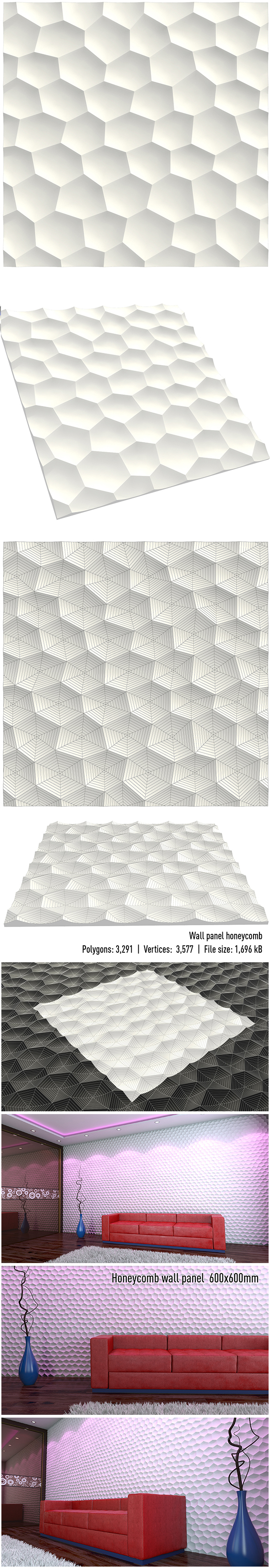 wall panel honeycomb
