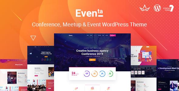 Eventa | Event Conference WordPress Theme