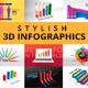 Stylish 3D Infographics
