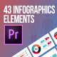 43 Infographics Elements (MOGRT)