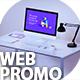 Desk Website Promo & App Promo