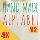 Hand Made Alphabet V2