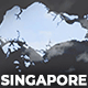 Singapore Animated Map - Republic of Singapore Map Kit