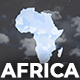 Africa Animated Map - Africa Map Kit