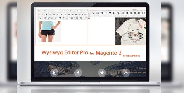 001 wysiwyg editor pro for magento 2