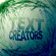 Particle text creators