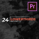 24 Lower Thirds