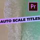 Simple Gradient Titles
