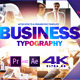 Favorite Business Typography 2.0