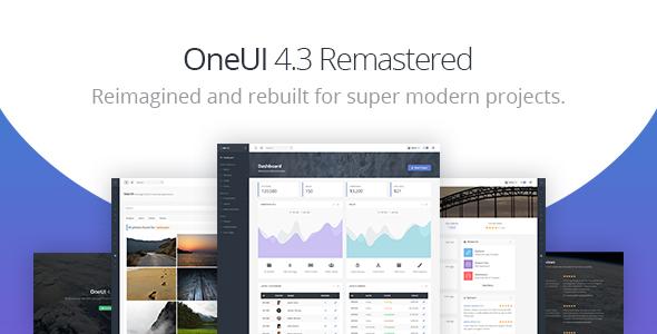 , OneUI – Bootstrap 4 Admin Dashboard Template & Laravel 6 Starter Kit, Laravel & VueJs, Laravel & VueJs
