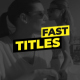 Simple Fast Titles