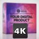 Digital Product Package Mockup