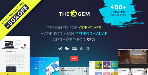 The Gem Black friday 50% off themeforest