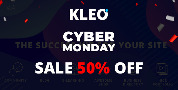 Black Friday-Big Savings On ThemeForest All Items(50% Off) kleo