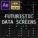 Futuristic Data Screens (AE)