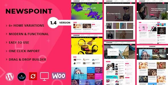 Newspoint - Blogging WordPress Theme