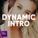 Dynamic Fast Intro for Premiere Pro