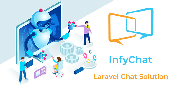 , InfyChat – Laravel Chat App Package, Laravel & VueJs