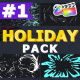 Cartoon Holiday Elements   FCPX