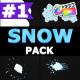 2D Cartoon Snow   FCPX