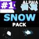 2D Cartoon Snow   Motion Graphics Pack