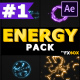 Hand-Drawn Energy Charges | After Effects